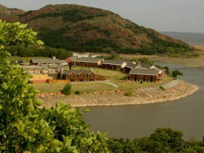 The Quartz Mountain Lodge in Lone Wolf, Oklahoma, Pictured on April 30, 2003