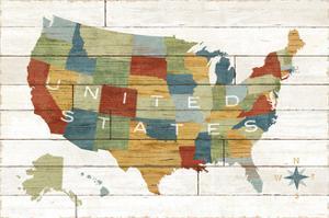 Barnboard Map by Sue Schlabach