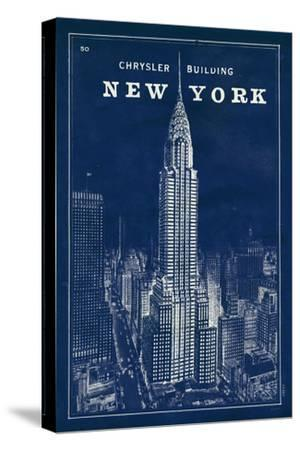 Blueprint Map New York Chrysler Building