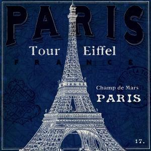 Blueprint Tour Eiffel by Sue Schlabach