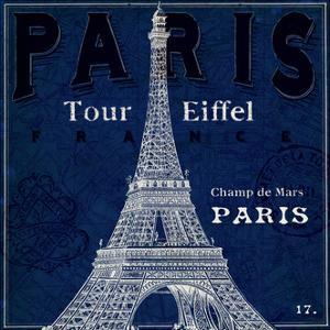Blueprint Tour Eiffel by Sue Schlabach