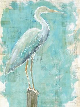 Coastal Egret I V2 by Sue Schlabach