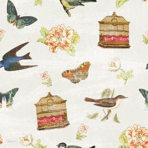 Cottage Roses Pattern VI by Sue Schlabach