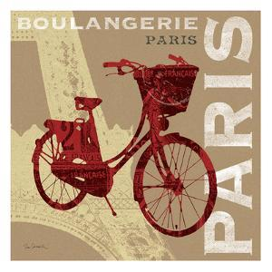 Cycling in Paris by Sue Schlabach