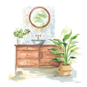 Greenery Bath I by Sue Schlabach