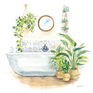 Greenery Bath II by Sue Schlabach