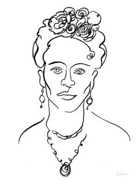 Ink Women III by Sue Schlabach