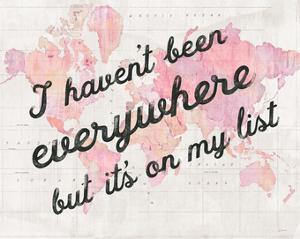 Its on My List by Sue Schlabach