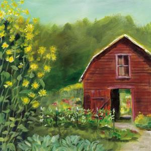 Kelly Way Barn by Sue Schlabach
