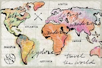 Mapped Shorelines I Neutral Crop by Sue Schlabach