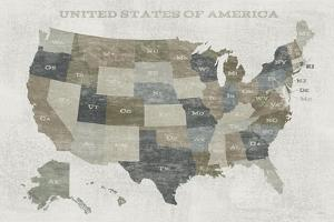 Slate US Map by Sue Schlabach