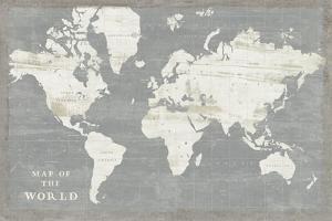 Slate World Map by Sue Schlabach
