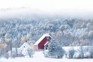 Snowy Valley by Sue Schlabach
