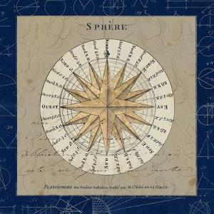 Sphere Compass Blue by Sue Schlabach