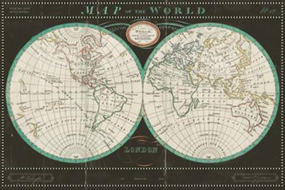 Torkingtons World Map Slate by Sue Schlabach