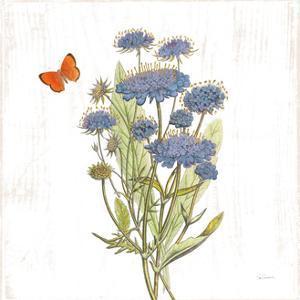 White Barn Flowers IX Sq by Sue Schlabach