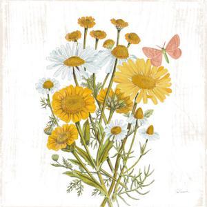 White Barn Flowers X Sq by Sue Schlabach