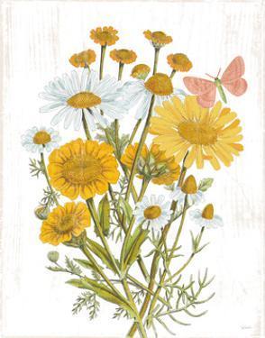 White Barn Flowers X by Sue Schlabach