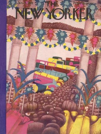 The New Yorker Cover - January 5, 1929