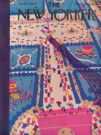 The New Yorker Cover - June 15, 1929