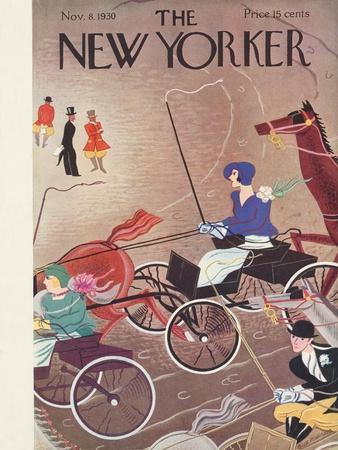 The New Yorker Cover - November 8, 1930