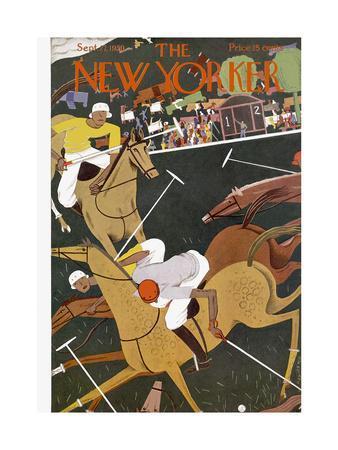 The New Yorker Cover - September 27, 1930