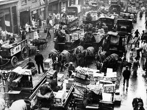 Billingsgate Fish Market in London, 1936 by Süddeutsche Zeitung Photo