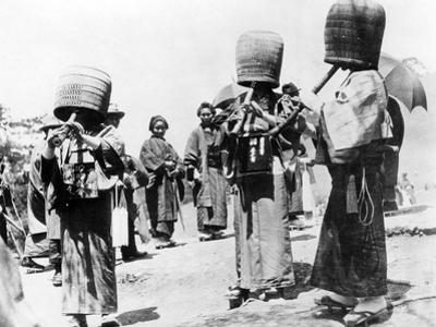 Buddhist Mendicants in Japan, 1927