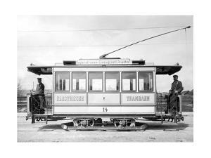 Electric Tram in Munich, Ca. 1895 by Süddeutsche Zeitung Photo