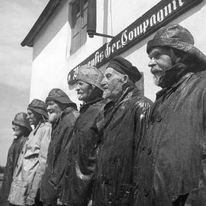 Fishermen at Hiddensee, 1935 by Süddeutsche Zeitung Photo