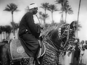 Man on a Horse, 1930s by Süddeutsche Zeitung Photo