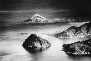 Mount Fuji in Japan, Ca. 1930's by Süddeutsche Zeitung Photo