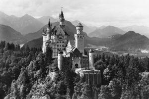 Neuschwanstein Castle before 1945 by Süddeutsche Zeitung Photo