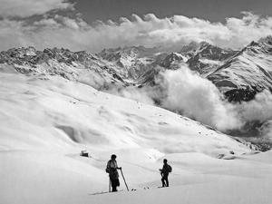 Skier Near Arosa by Süddeutsche Zeitung Photo
