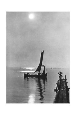 Sunset at the Curonian Spit, 1942 by Süddeutsche Zeitung Photo
