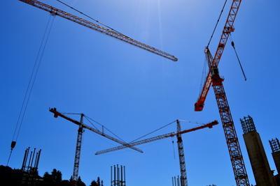 Tower Cranes by SueGreene