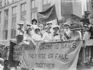 Suffrage Hay Wagon, C.1910-5
