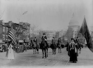 Suffrage Parade (Washington D.C., 1913) Art Poster Print