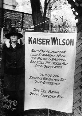 Suffragette Banner (Kaiser Wilson) Art Poster Print