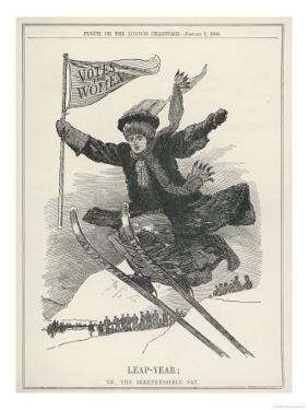 Suffragette Leaps into the Future