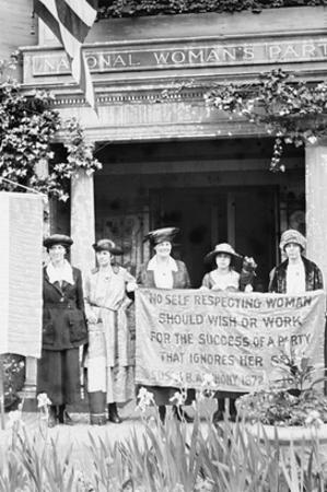 Suffragettes Displeased over Women's Party Platform