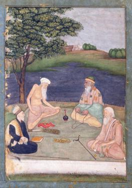 Sufis Visiting their Pir, C.1650