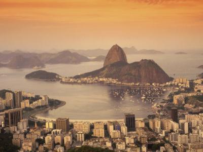 Sugar Loaf Mountain, Guanabara Bay, Rio de Janeiro, Brazil