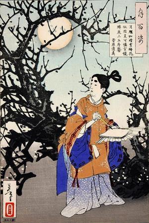 https://imgc.allpostersimages.com/img/posters/sugawara-no-michizane-one-hundred-aspects-of-the-moon_u-L-PNA07Z0.jpg?p=0