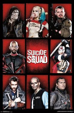 Suicide Squad- Character Grid