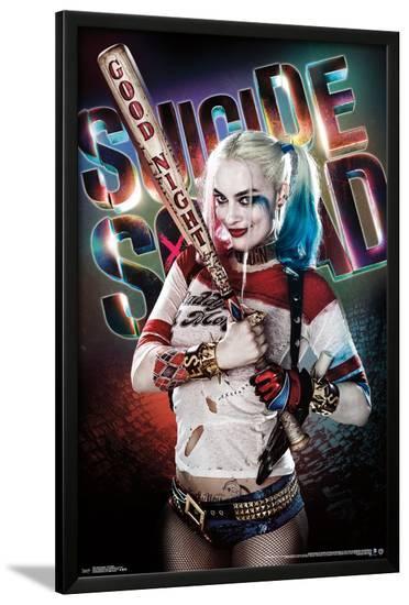 Suicide Squad - Good Night--Lamina Framed Poster