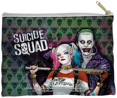Suicide Squad - Perfect Couple Zipper Pouch