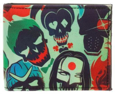 Suicide Squad Skulls Wallet