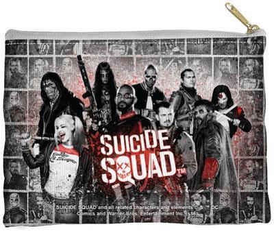 Suicide Squad - Splatter Zipper Pouch