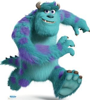 Sulley - Disney Pixar Monsters University Lifesize Standup